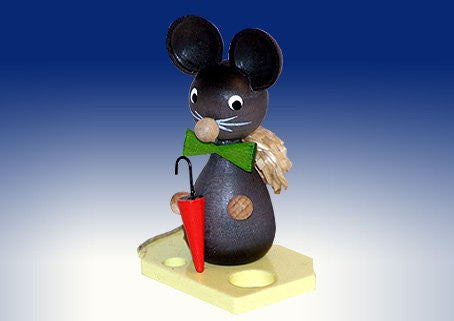 Mouse children mouse child with screen and hat Easter figure mouse Easter Decoration NEW 159/75 8