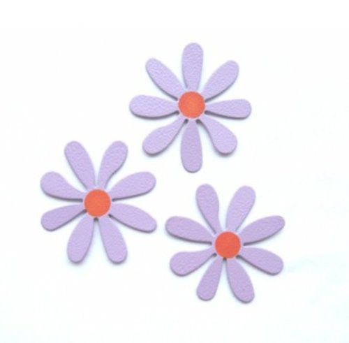 Embellish Your Story Lilac Daisy Magnets - Set of 3 - Embellish Your Story Roeda 100876-EMB by Embellish Your Story