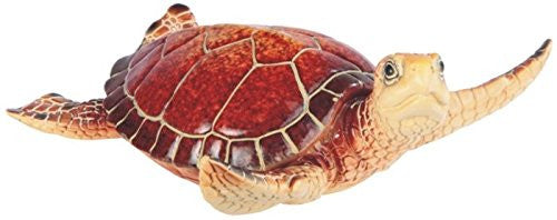 StealStreet SS-G-54341 Red Shelled Sea Turtle Figurine, 6.5""