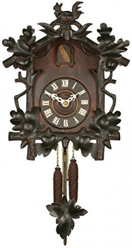 Clocks Poster-Sticker Wall-Tattoo - Black Forest Cuckoo Clock (32 x 17 inches)