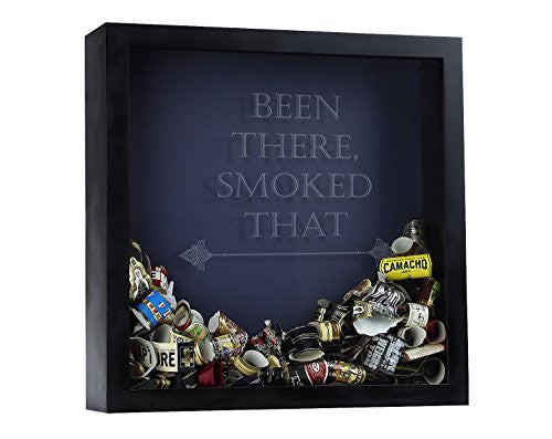 Cigar Band Shadow Box, Cigar Band Box, Cigar Band Storage Box, Been There Smoked That