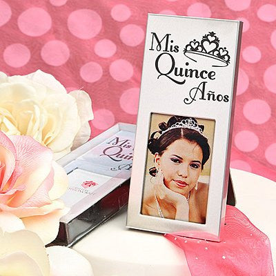 Silver Mis Quince Picture Frame