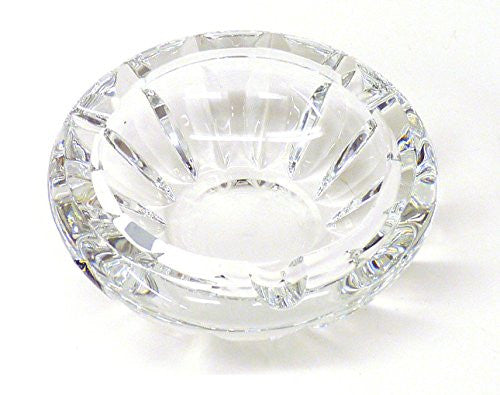 Clear LORD French Crystal Ashtray