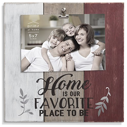 "Prinz Farmhouse "" Home is Our Favorite Place to be "" Clip Frame"