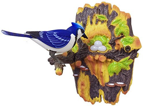 Sky Master Lifelike Bird That Chirps & Dances Charming Bird (Blue)