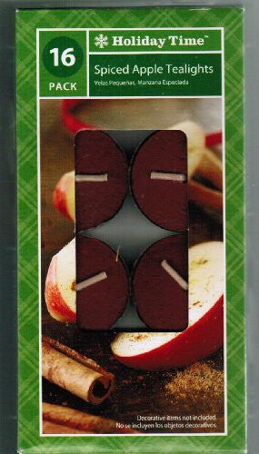 Holiday Time Spiced Apple Tealights - 16