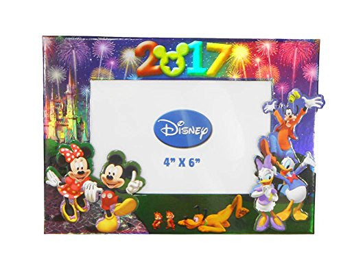 "Disney Exclusive 2017 Mickey & Gang 4"" X 6"" Photo Frame"