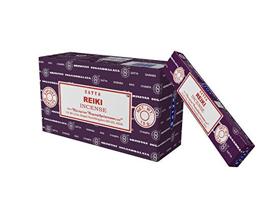 Satya Nag Champa Reiki Incense Sticks, 12 Count