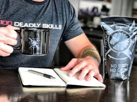 "Violent Nomad ""No Body No Crime"" blend + Coffee Mug"