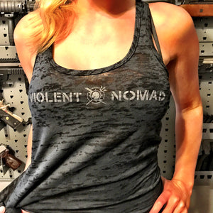 LADIES' VIOLENT NOMAD RACERBACK TANK