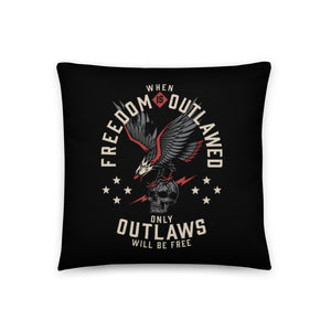 OUTLAW THROW PILLOW