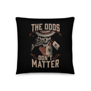 GAMBLER THROW PILLOW