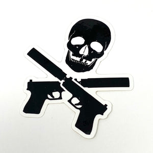 QUIET PIRATE DECAL