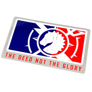 MAJOR LEAGUE DEED DECAL