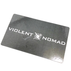 VIOLENT NOMAD + LOGO DECAL