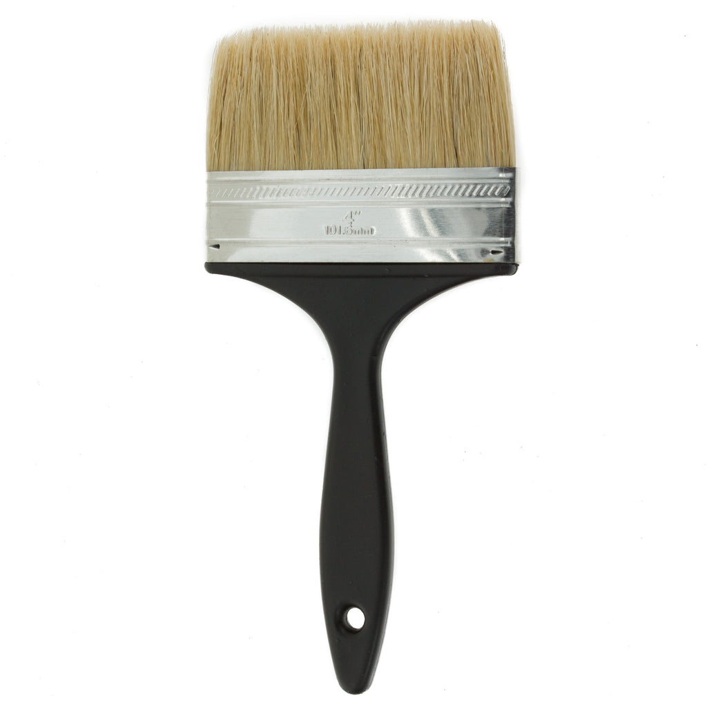 Coral Value Chip Paint Brush with a Bristle Paintbrush Head for use with All Paints 4 inch