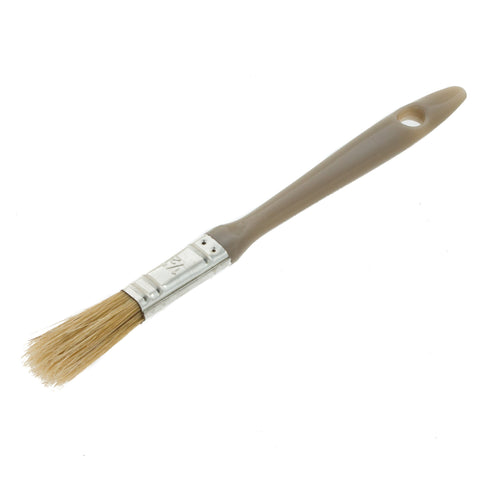 Coral GRP Paint Brush with a Bristle Paintbrush Head for All Paints and Laminating Fibreglass 0.5 inch