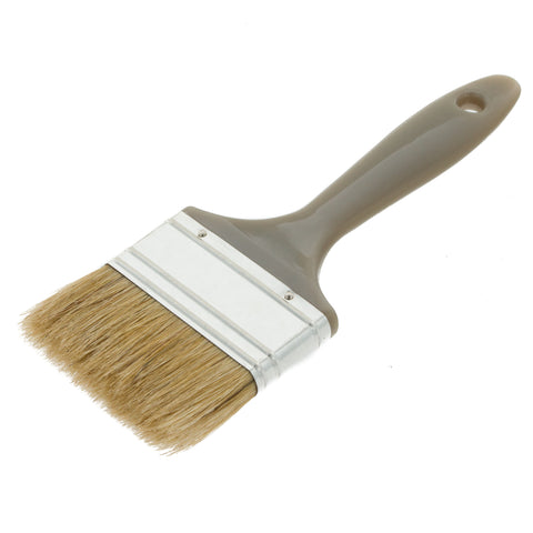 Coral GRP Paint Brush with a Bristle Paintbrush Head for All Paints and Laminating Fibreglass 3 inch