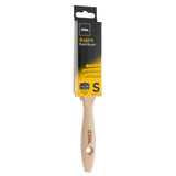 Coral Aspire Paint Brush with a Fine Synthetic Bristle Paintbrush Head and Wooden Handle 1.5 inch