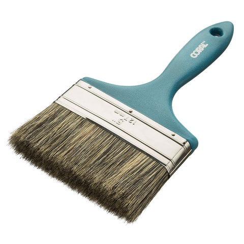 Coral Endurance Paint Brush with a Blended Bristle Paintbrush Head for Walls Ceilings or Masonry 5 inch