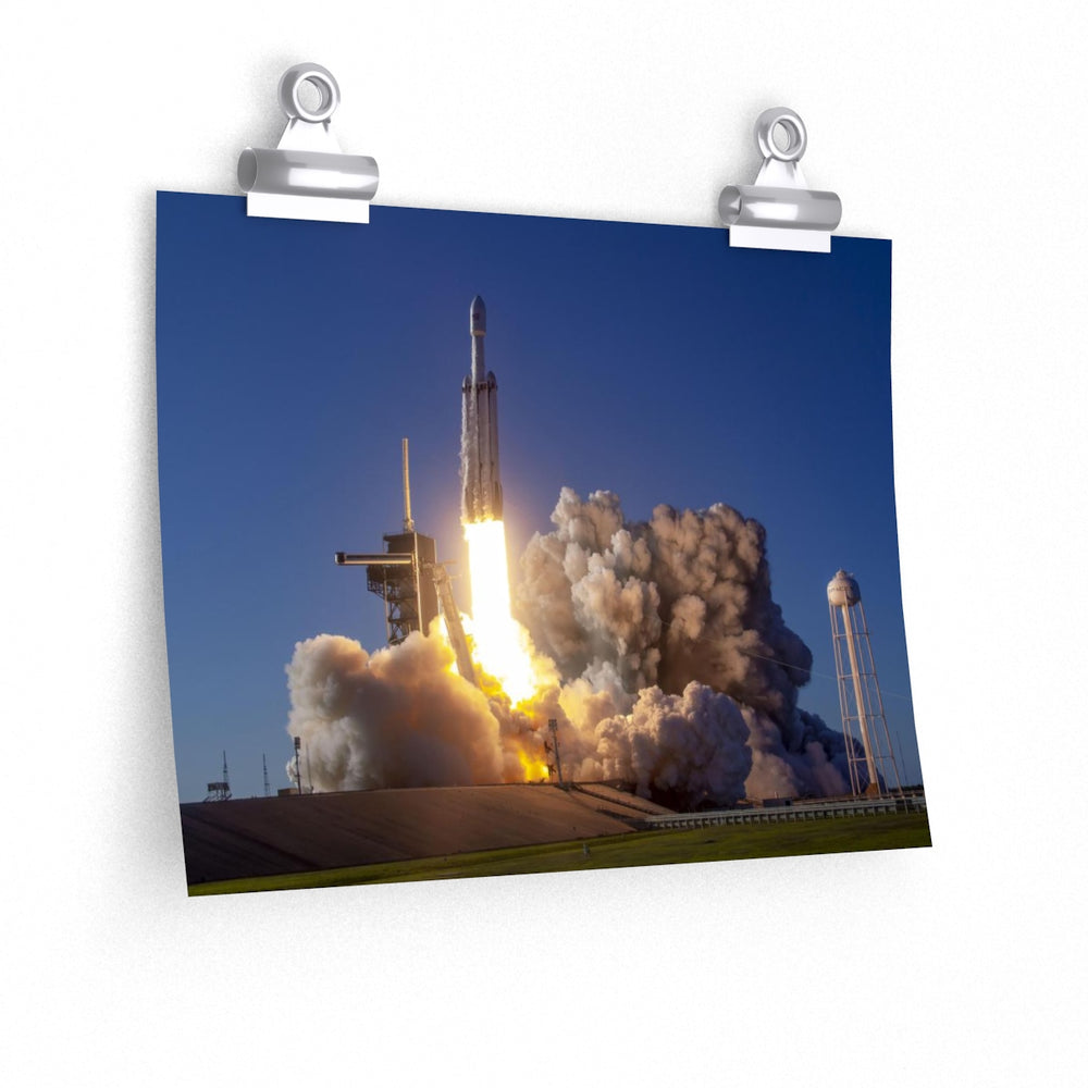 FH 2019 Liftoff Poster - SpaceX Fanstore