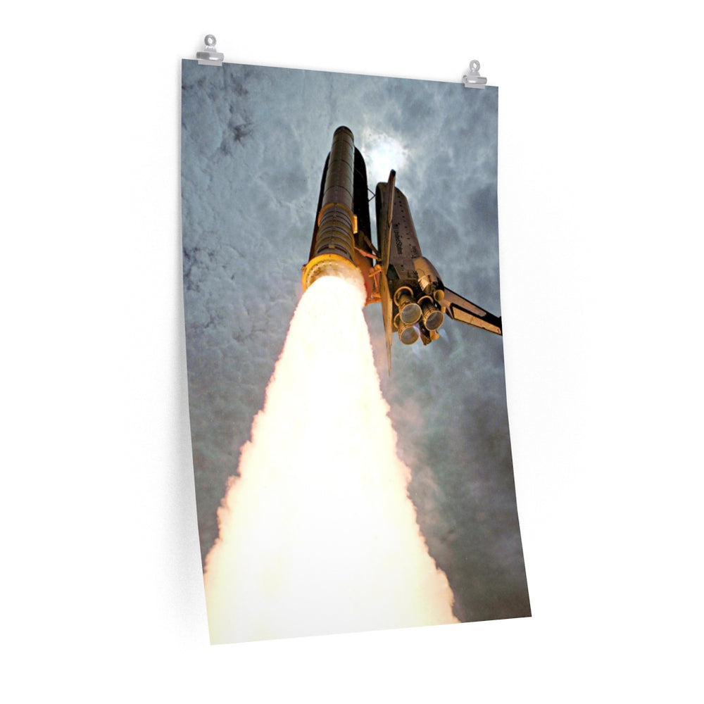 Space Shuttle Poster #3 - SpaceX Fanstore