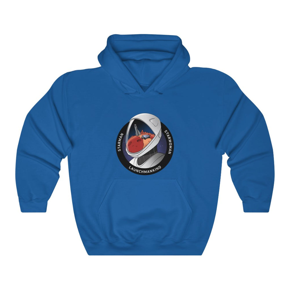 Launch Mankind Hoodie - SpaceX Fanstore