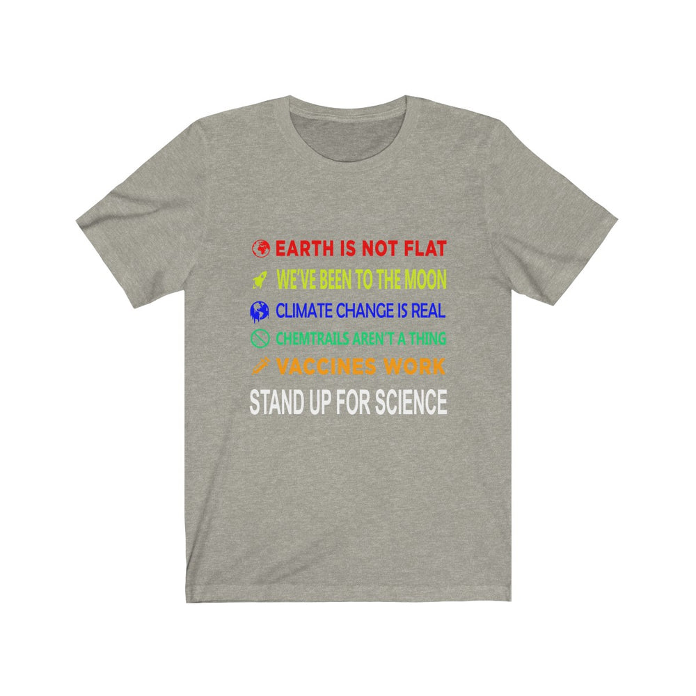 Stand up for science T-Shirt - SpaceX Fanstore