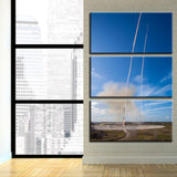 Double Booster Synchronous Landing 3-Piece Canvas