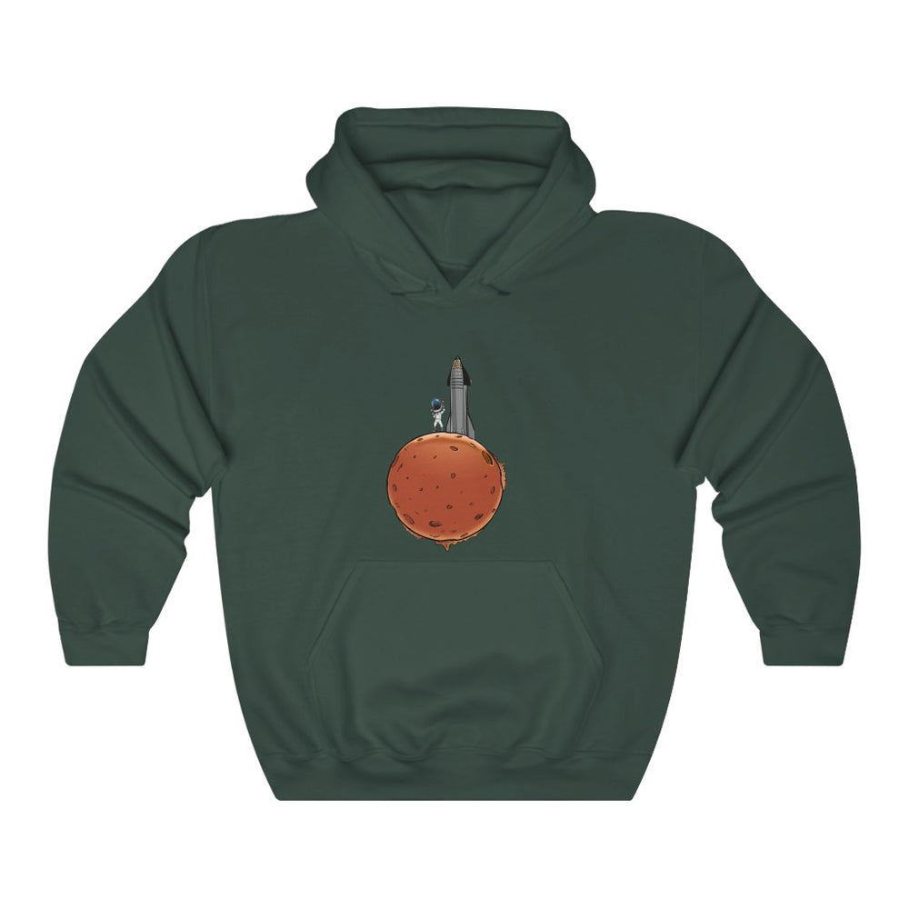 Starman's arrival on Mars Hoodie - SpaceX Fanstore