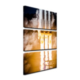 Triple Booster 3-Piece Canvas
