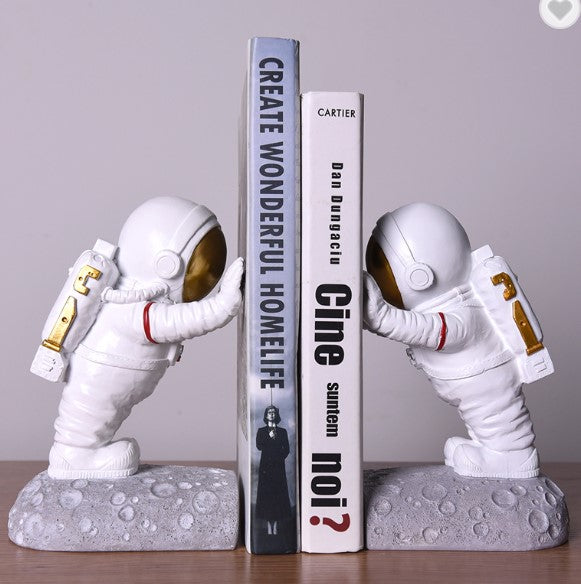 Astronaut Bookends - SpaceX Fanstore