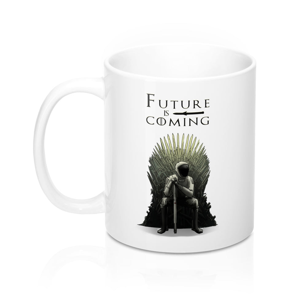 Future is Coming Mug - SpaceX Fanstore