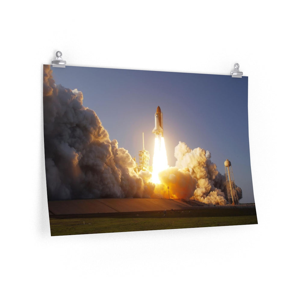 Space Shuttle Poster #2 - SpaceX Fanstore