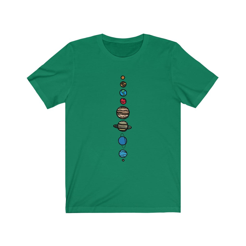 Solar System t-shirt - SpaceX Fanstore