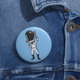 Celebrating Starman Button