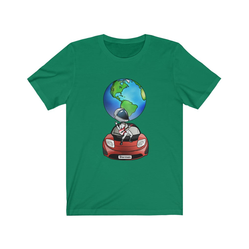 Rocking Starman T-Shirt - SpaceX Fanstore