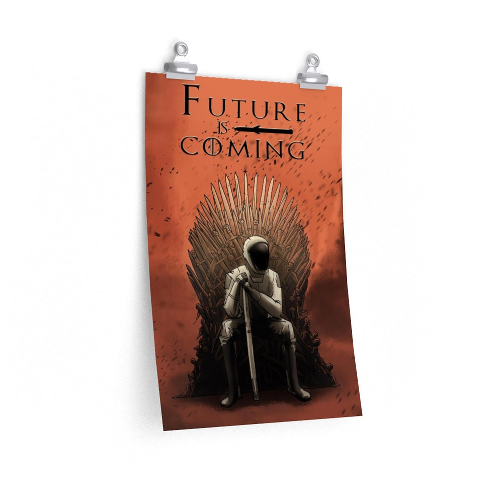 Future is Coming Poster - SpaceX Fanstore