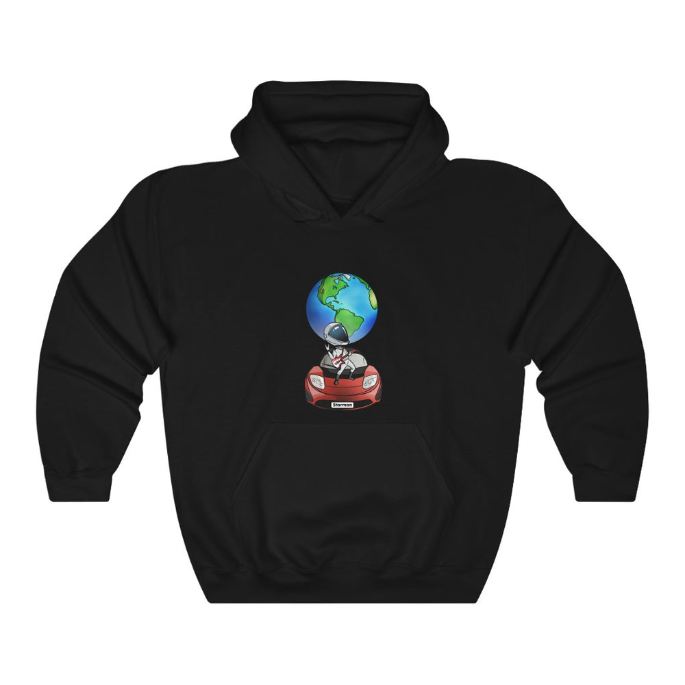Rocking Starman Hoodie - SpaceX Fanstore