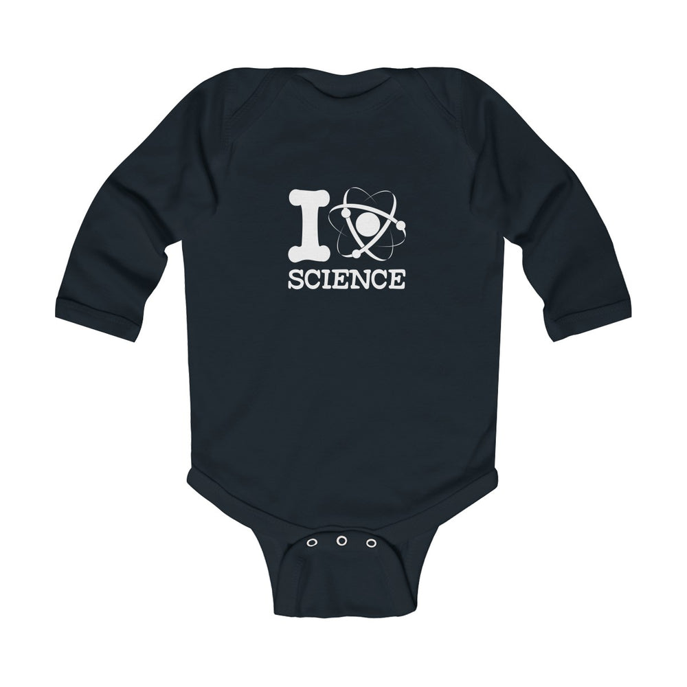 I Love Science Baby-Onesie