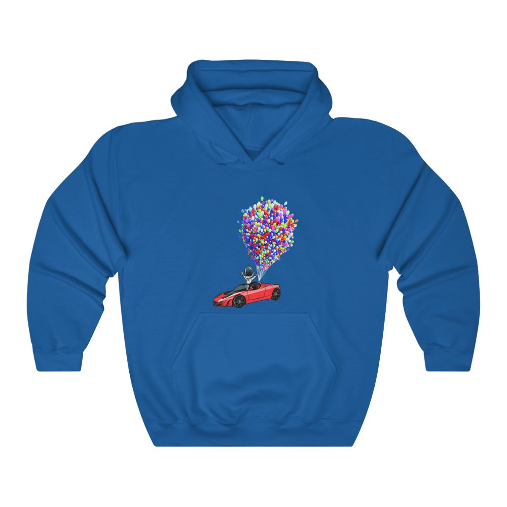 Floating Starman Hoodie - SpaceX Fanstore