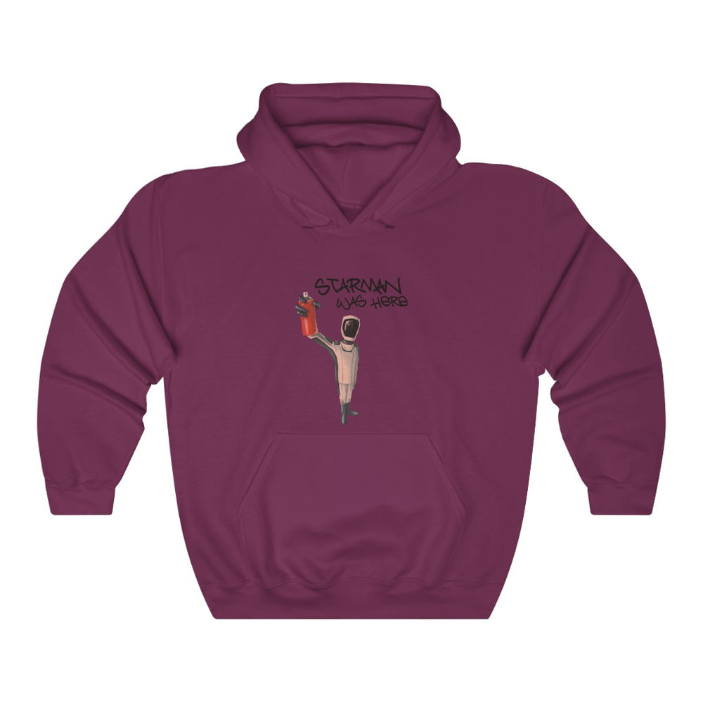 Starman was here Hoodie - SpaceX Fanstore