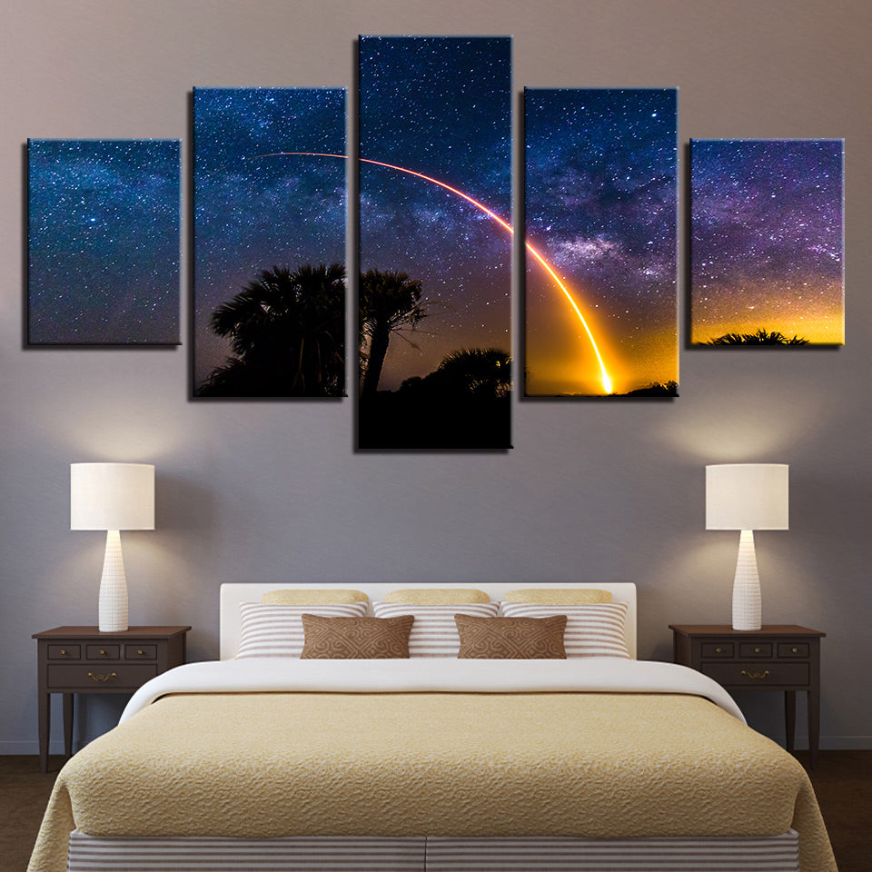 JCSAT-14 Mission 5-Piece Canvas