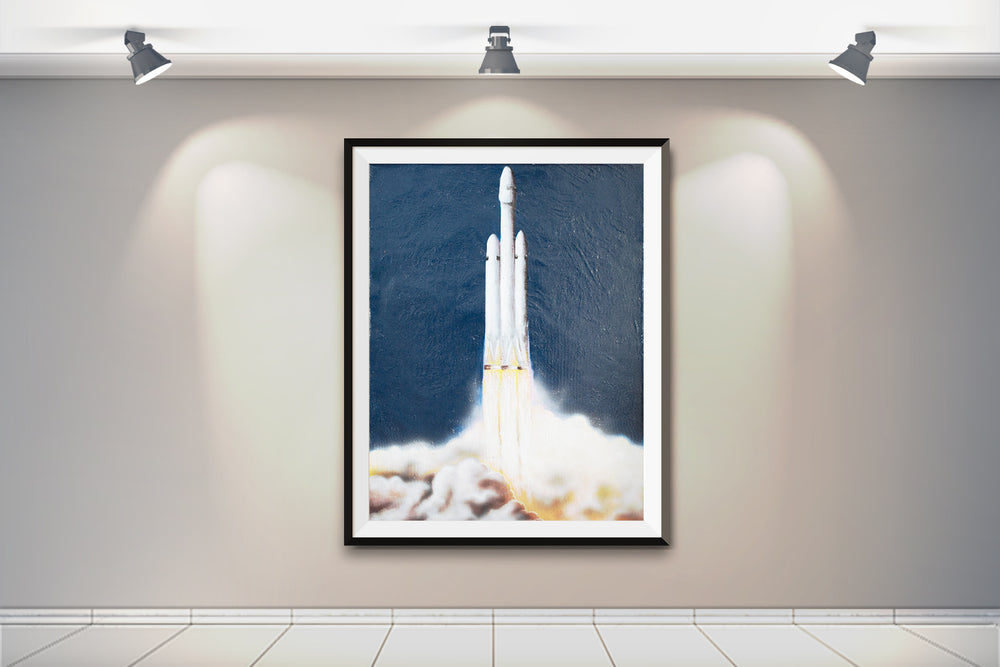 FH Painting - SpaceX Fanstore