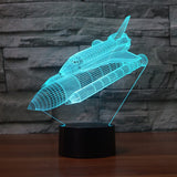 Space Shuttle Night Lamp