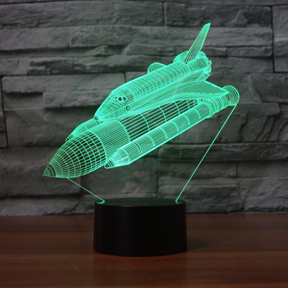 Space Shuttle Night Lamp - SpaceX Fanstore