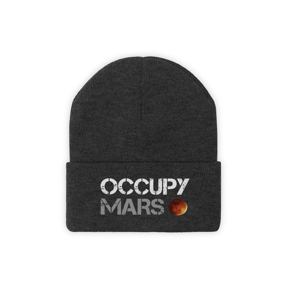 Occupy Mars Beanie - SpaceX Fanstore