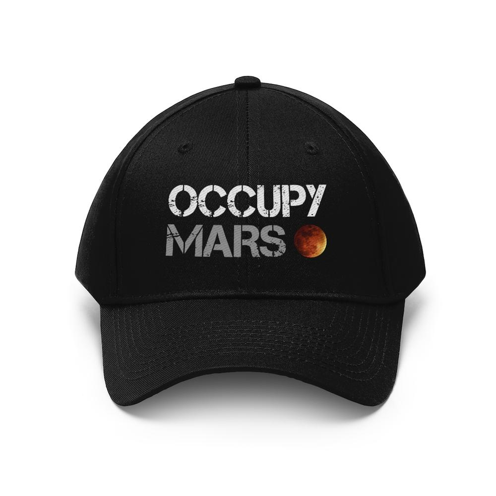 Occupy Mars Hat - SpaceX Fanstore