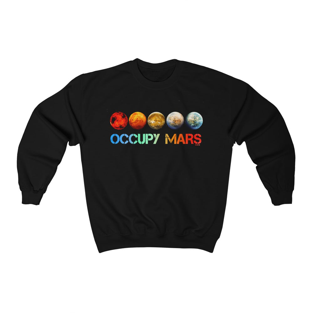 Occupy Mars Sweatshirt - SpaceX Fanstore