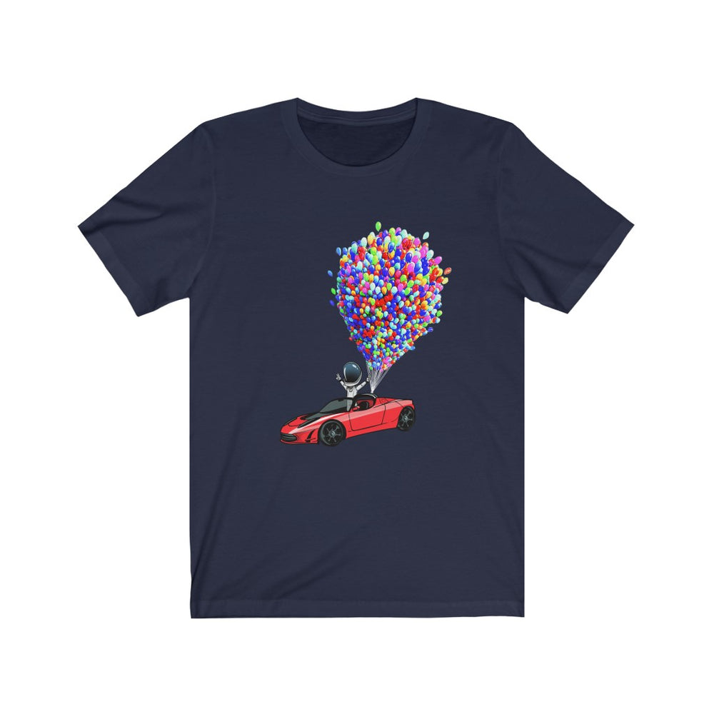 Floating Starman T-Shirt - SpaceX Fanstore